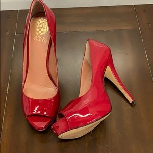 Vince Camuto Red Patent Leather